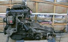 87-89 SOHC KE-JETRONIC VW FOX VOLKSWAGEN ENGINE WITH TRANSMISSION