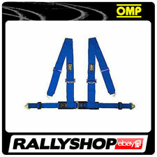 OMP Racing 4M Point Harness Road Blue ECE CHEAP DELIVERY Harness Belts