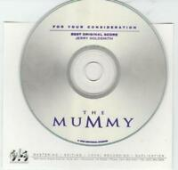 For Your Consideration: The Mummy: FYC Best Original Score PROMO MUSIC AUDIO CD