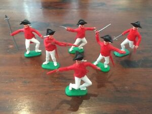 """Timpo AWI British Infantry / """"Redcoats"""" - Complete Set - 1960's"""