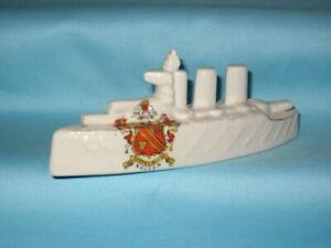 Willow Art China WW1 Battleship* - BOLTON Crest