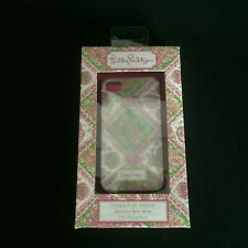 New Lilly Pulitzer iPhone Case Pink Water Wings Fits iPhone 4s/4