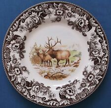 SPODE WOODLAND STAG DINNER PLATE 10¾ INCHES UNUSED MADE IN ENGLAND