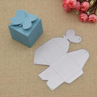 Stanzschablone Herz Box Schmetterling DIY Basteln Cutting Die Prägeschablone Neu