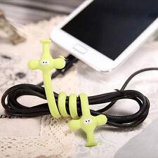 Lustig Nilpferd Elefant Ente Modell Wickler 3× Ordentlich Kopfhörer Kabelbinder