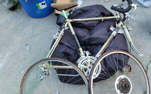 Vintage Raleigh Grand Prix Frame Bicycle