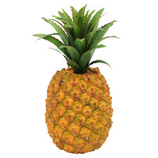 2 x Artificial Pineapple - Plastic Decorative Fake Fruit Realistic look & touch