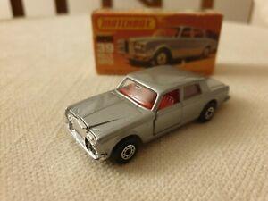 Matchbox Superfast No 39 Rolls Royce Silver Shadow II Mint Boxed 1979
