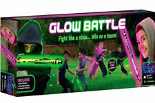 Glow Battle: Glow-in-the-Dark Outdoor Party Game for Fans of Laser Tag & Ninjas