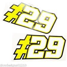 ANDREA IANONNE` 29` MOTO GP pegatinas adhesivos para motos a medida Gráficos x2