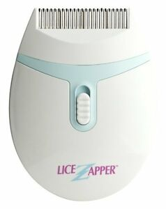 Lize Zapper Electronic Hair Comb Detects & Kills Lice Louse Nit