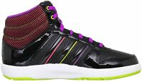adidas Womans Neo BBALL MID Basketball Trainers Boots x73830 RRP £55.00