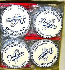 Vintage Case 1950s Los Angeles Dodgers Drink Coasters Baseball Japan (36) Packs