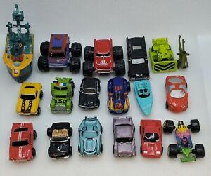 Micro Machines Random Lot of 18 Cars Trucks Monster Trucks Boats Deluxe Lot 4
