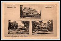 BERNARDSVILLE NEW JERSEY FELLOWSHIP DEACONRY 3 VIEW POSTCARD