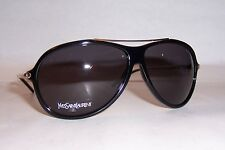 NEW YVES SAINT LAURENT SUNGLASSES YSL 2354/S RHP-Y1 BLACK/GRAY AUTHENTIC