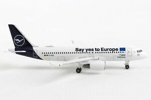 Herpa Wings 533614 Lufthansa Airbus A320 'Say Yes To Europe' 1/500 Scale Model
