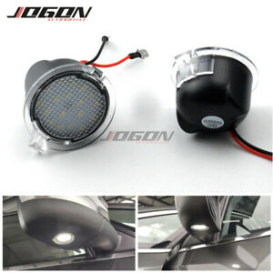 2X LED Side Mirror Puddle Light For Ford F-150 Explorer Expedition Edge Everest