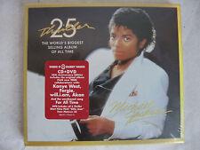 MICHAEL JACKSON Thriller 25th Anniversary MINT NEW SEALED CD DVD 2008 USA MINT