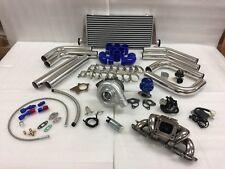 89-98 240SX S13 S14 SR20DET SR T3T4 .63 Turbo Kit Stainless Steel Manifold FMIC