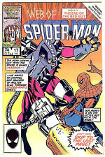 Web of Spider-Man #17 (Marvel 1984 vf/nm) Marc Silvestri art