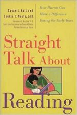 Straight Talk About Reading: How Parents Can Make a Difference During the Early