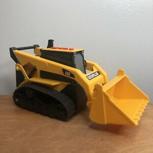 """Toy State """"Cat"""" Tracked Skid Steer Loader with Lights and Sound 1997 Vintage"""