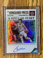2017-18 Cedi Osman Panini Vanguard Hot off the Press On Card Auto 88/99 CAVS 🔥