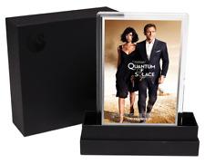 2020 James Bond 007 Quantum of Solace 5g Silver Foil Movie Poster - 1,000 Made