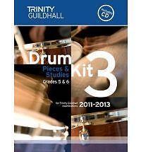 Drum Kit: Bk. 3: Grades 5 & 6 by Trinity Guildhall (Sheet music, 2010)