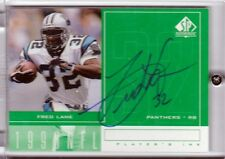 CERTIFIED UPPER DECK SP autograph signed card FRED LANE Panthers deceased 2000