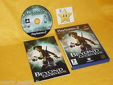 PS2  BEYOND GOOD & EVIL Playstation 2  vers.ITA MITICO!