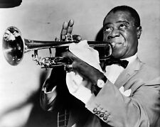 Louis Armstrong, 8x10 B&W Photo