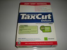 H&R Block TaxCut 2004 Deluxe Tax Cut imports Turbotax. New in box