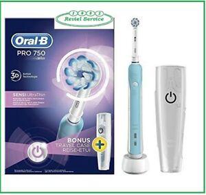 Oral B spazzolino elettrico PRO 750 SENSI UltraThin (no pro600 no crossaction)