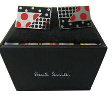 PAUL SMITH GEMELOS – lunares Gemelos rojo / Azul/Plata en Caja Regalo Ideal