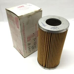 Lenz 4-15 Hydraulic Fluid Line Cartridge Replacement Filter Element, 25-Micron