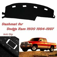 For Dodge RAM 1500 2500 3500 1994-1997 Dashmat Dashboard Cover Blemish Protector