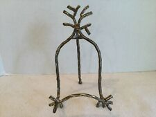 Vintage Metal Picture Display Easel Stand
