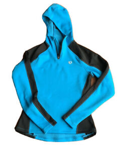 Pearl iZUMi Symphony Thermal Hoodie LS Cycling Jersey Top Women's Size XS