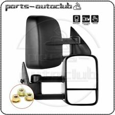 Tow For 1999 2000 2001 2002 2003-2007 Chevy Gmc Manual Extend Side View Mirrors