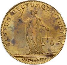 O3518 RARE Jeton Louis XVI Cours Monnaies Justice Paris SPL ->F offre