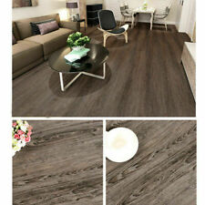4.18m² PVC Selbstklebende Bodenfliesen Laminat Holz Korn Textur Bodenbelag DHL