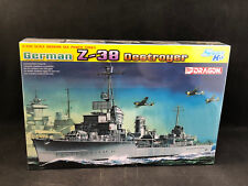 Dragon German Z-38 Destroyer 1:700 Scale Plastic Model Kit 7134 New in Box