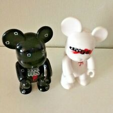 """Qee Toy2R Reservoir Dogs 2.5"""" Black And White Figures X 2"""