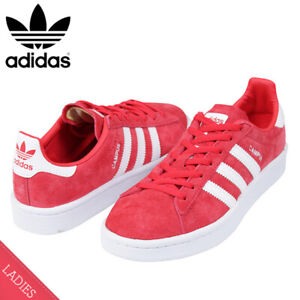 occidental Monótono Para buscar refugio  Adidas Campus Red Trainers for Women for sale | eBay