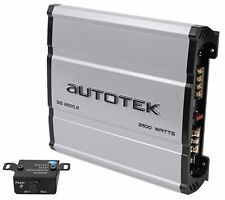 Autotek SS2500.2 Super Sport 2500w 2-Channel Car Audio Amplifier Class A/B Amp