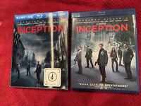 Inception w/Slipcover (Blu-ray/DVD, 2010, 2-Disc Set) 8392910664