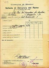 V202-RIMINI-DENUNCIA DEL RAME 1940
