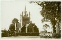 Isle of Wight Whippingham Church RP by E S Reilly, Regent St Shanklin :QX.1991